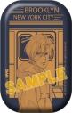 【グッズ-バッチ】BANANA FISH 缶バッジ/NYC BLOOKLYN Subwayの画像