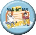 【グッズ-バッチ】BANANA FISH 缶バッジ/NYC MANHATTAN Pancakeの画像