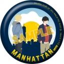 【グッズ-バッチ】BANANA FISH 缶バッジ/NYC MANHATTAN Egg Skylineの画像