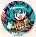 【グッズ-バッチ】初音ミクシリーズ 缶バッジ/サメヤマ次郎 ハロウィン ミクの画像