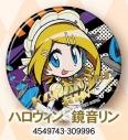 【グッズ-バッチ】初音ミクシリーズ 缶バッジ/サメヤマ次郎 ハロウィン リンの画像
