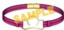 【グッズ-腕輪】おそ松さん ブレスレット/松犬(チワワ)の画像