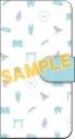 【グッズ-カバーホルダー】HELLO WORLD 手帳型スマートフォンケースの画像