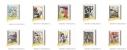 【グッズ-バッチ】銀魂 コマコレ/スタンド付バッジコレクションの画像