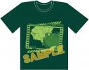 【グッズ-Tシャツ】ガールズ&パンツァー最終章 1回戦突破Tシャツ/Lサイズ サンダース大学付属高校の画像
