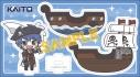 【グッズ-スタンドポップ】初音ミクシリーズ ゆらゆらアクリルスタンド/雪乃たまご パイレーツ KAITOの画像