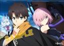 【グッズ-ポスター】Fate/Grand Order -絶対魔獣戦線バビロニア- ミニクリアポスター/藤丸立香&マシュの画像