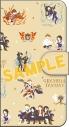 【グッズ-カバーホルダー】グランブルーファンタジー 手帳型スマホケース/四騎士 ゆるパレットの画像