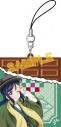 【グッズ-ストラップ】ラブライブ!サンシャイン!! チョコ型ラバーストラップ/松浦果南の画像