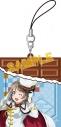 【グッズ-ストラップ】ラブライブ!サンシャイン!! チョコ型ラバーストラップ/渡辺 曜の画像