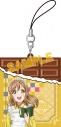 【グッズ-ストラップ】ラブライブ!サンシャイン!! チョコ型ラバーストラップ/国木田花丸の画像