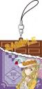 【グッズ-ストラップ】ラブライブ!サンシャイン!! チョコ型ラバーストラップ/小原鞠莉の画像