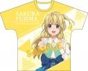 【グッズ-Tシャツ】22/7 フルグラフィックTシャツ/藤間桜の画像