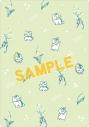 【グッズ-下敷】夏目友人帳 ニャンコ先生B5下敷き/すずらん柄の画像