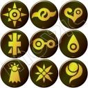 【グッズ-バッチ】デジモンアドベンチャー LAST EVOLUTION 絆 紋章バッジコレクションの画像