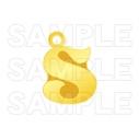 【グッズ-セットもの】ツキノ芸能プロダクション ツキコット用イニシャルチャーム Sの画像