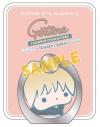 【グッズ-携帯グッズ】銀魂 スマートフォンリング/沖田(サンリオコラボ第三弾)の画像