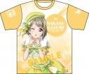 【グッズ-Tシャツ】ラブライブ!虹ヶ咲学園スクールアイドル同好会 フルグラフィックTシャツ/中須かすみの画像