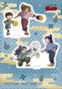 【グッズ-スタンドポップ】忍たま乱太郎 アニメ版・アクリルスタンド 保健委員会&作法委員会 OS記念の画像