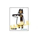 【グッズ-ステッカー】とーとつにエジプト神 メタルステッカー/セベクの画像
