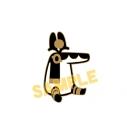【グッズ-ピンバッチ】とーとつにエジプト神 お座りピンズ/セベクの画像