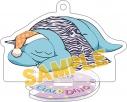 【グッズ-キーホルダー】ギャルと恐竜 スタンド付きアクリルキーホルダー/おやすみの画像
