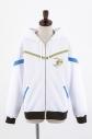 【グッズ-ジャンパー・コート】TVアニメ「白猫プロジェクト ZERO CHRONICLE」 ジップアップパーカー(光の王 アイリス)/メンズフリーの画像