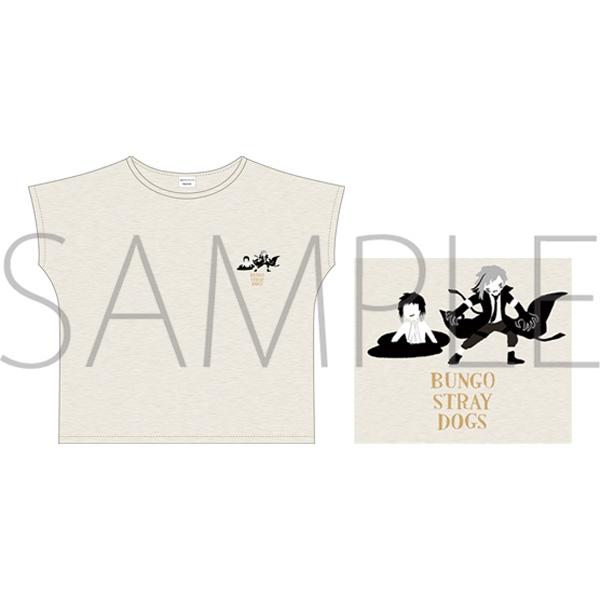 文豪ストレイドッグス Tシャツ/ゆるパレットC_0