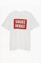 【コスプレ-コスプレアクセサリー】宇崎ちゃんは遊びたい! SUGOI DEKAI Tシャツ(半袖/白)/Lの画像