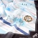 【グッズ-マフラー】アイドリッシュセブン スカーフ&スカーフリングセット/環の画像