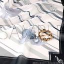 【グッズ-マフラー】アイドリッシュセブン スカーフ&スカーフリングセット/楽の画像