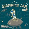 【グッズ-ピンバッチ】おそ松さん ピンズ/ゆるパレット F6 カラ松の画像