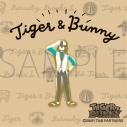 【グッズ-ピンバッチ】TIGER & BUNNY ピンズ/ゆるパレット 鏑木・T・虎徹の画像