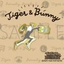 【グッズ-ピンバッチ】TIGER & BUNNY ピンズ/ゆるパレット ワイルドタイガーの画像