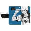 【グッズ-カバーホルダー】新テニスの王子様 手帳型スマートフォンケース/越前 リョーマの画像