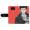 【グッズ-カバーホルダー】新テニスの王子様 手帳型スマートフォンケース/桃城 武の画像