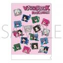 【グッズ-クリアファイル】VAZZROCK クリアファイル/ROCK DOWN LINEスタンプ柄の画像