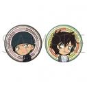 【グッズ-バッチ】名探偵コナン 缶バッジセット/赤井&世良 ミニキャラの画像