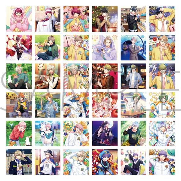 【グッズ-ブロマイド】A3! ましコレ スクエアフォトコレクション/Vol.2 春組&夏組