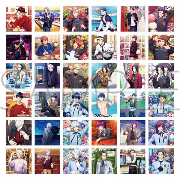 【グッズ-ブロマイド】A3! ましコレ スクエアフォトコレクション/Vol.2 秋組&冬組