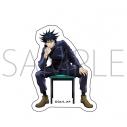 【グッズ-ステッカー】呪術廻戦 ステッカー/伏黒 恵 椅子シリーズ 描き下ろしの画像