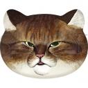 【グッズ-バッチ】俺、つしま ネコ型缶バッジ Bの画像
