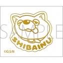 【グッズ-シール】極主夫道 蒔絵シール/SHIBAINUの画像