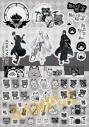 【グッズ-ステッカー】音戯の譜 -CHRONICLE- 無色の空と嗤う糸 ステッカーシートの画像
