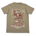 【グッズ-Tシャツ】特価 カードキャプターさくら クリアカード編 さくら Tシャツ SAND KHAKI Lの画像