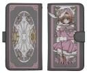【グッズ-カバーホルダー】特価 カードキャプターさくら クリアカード編 さくら 手帳型スマホケース138の画像