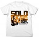 【グッズ-Tシャツ】特価 ゆるキャン△ ソロキャンガール Tシャツ WHITE XLの画像