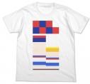 【グッズ-Tシャツ】特価 ポプテピピック フルカラーTシャツ WHITE-XLの画像