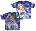 【グッズ-Tシャツ】アイドルマスター シンデレラガールズ 煌めきのひととき 北条加蓮 両面フルグラフィックTシャツ Lの画像