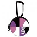 【グッズ-オーディオアクセサリー】黒子のバスケ 紫原 敦 フルカラーイヤホンポーチの画像